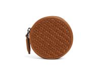 LEICA | ZEGNA Round wallet, Vicuna