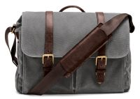 ONA Bag, The Brixton, Canvas, grau