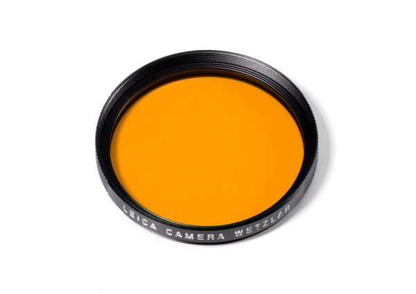 Filter Orange, E39, schwarz