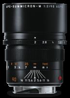 Leica APO-Summicron-M 1:2/90mm ASPH., schwarz eloxiert