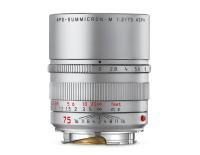 Leica APO-Summicron-M 1:2/75mm ASPH., silbern eloxiert
