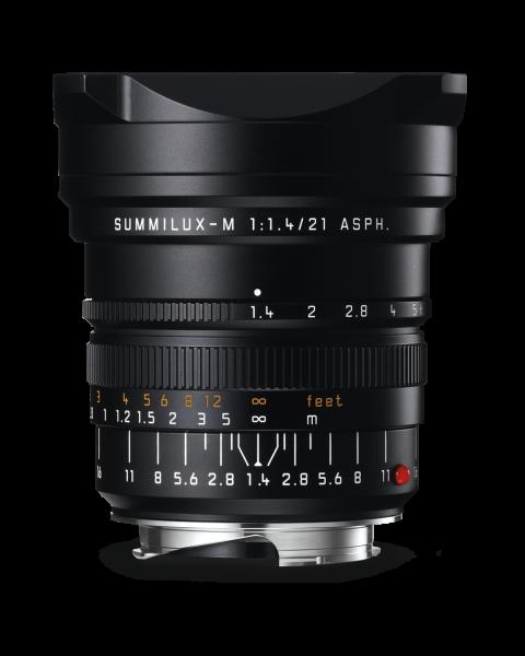Leica Summilux-M 1:1,4/21mm ASPH., schwarz eloxiert
