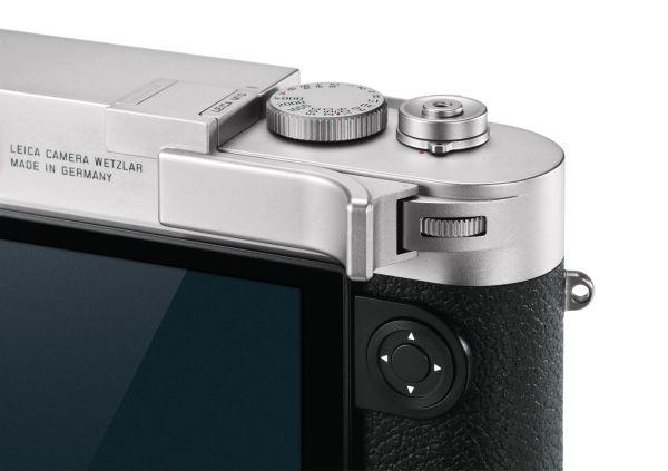 Leica M10 Daumenstütze, silbern