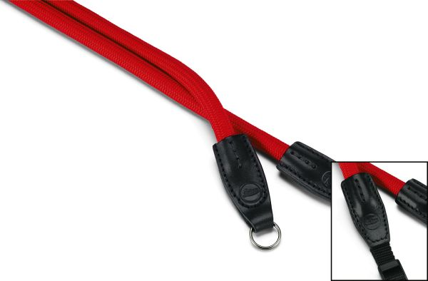 Leica Rope Strap, Red, designed by COOPH