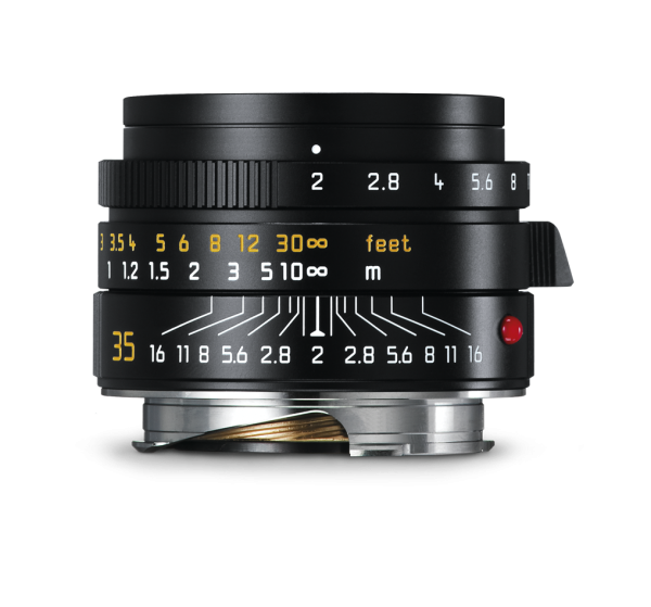 Leica Summicron-M 1:2/35mm ASPH., schwarz eloxiert