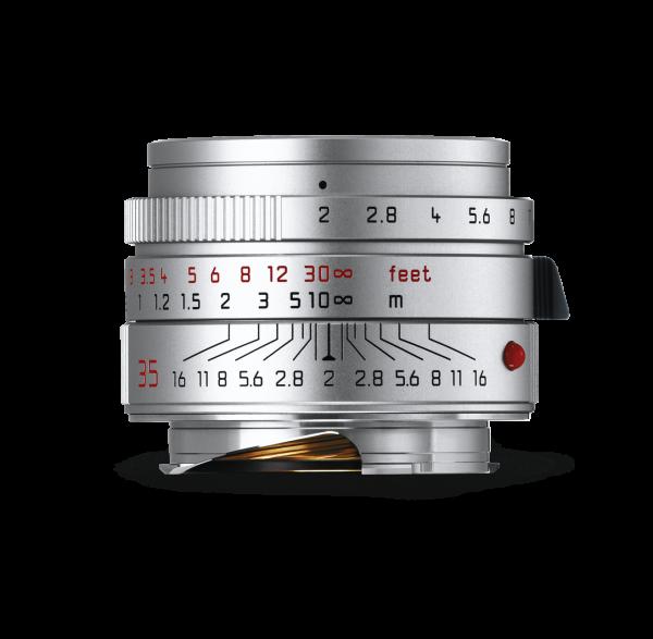 Leica Summicron-M 1:2/35mm ASPH., silbern eloxiert