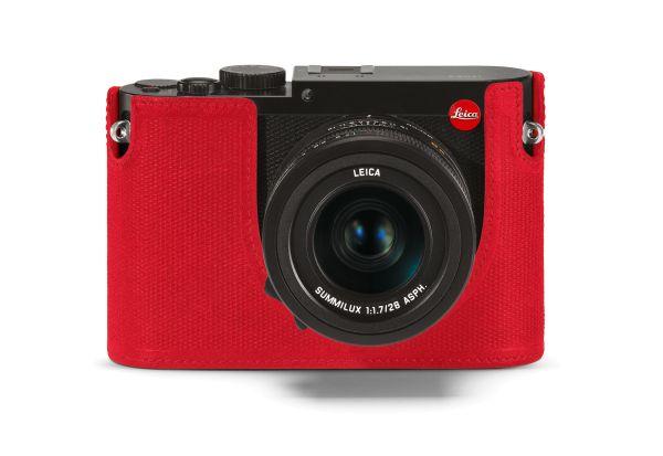 Leica Protektor Q, Leder, Rot