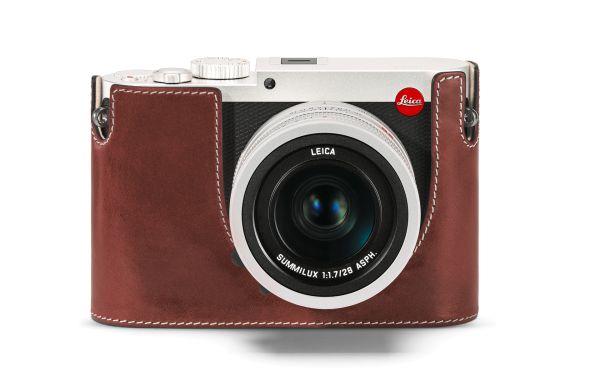 Leica Protektor Q, Leder, Vintage Braun