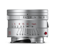 Leica Summarit-M 1:2,4/35mm ASPH., silbern eloxiert