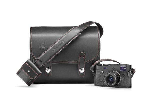 Systemtasche Set, Oberwerth für Leica, Leder/Cordura, schwarz