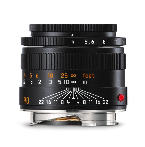 Leica Macro-Elmar-M 1:4/90mm, schwarz eloxiert