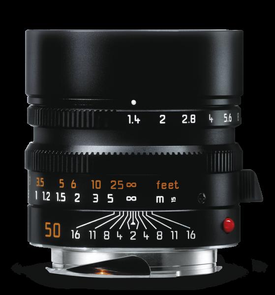 Leica Summilux-M 1:1,4/50mm ASPH., schwarz eloxiert
