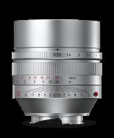 Leica Noctilux-M 50 mm f/0.95 ASPH., plata anodizada