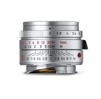 Leica Summicron-M 35mm f/2 ASPH., plata cromada anodizada
