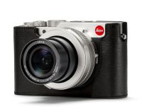 Cámara Leica D-LUX 7, plata anodizada  + Protector D-LUX 7 en piel, negro