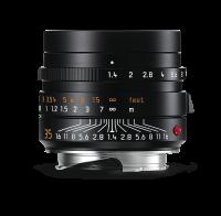 Leica Summilux-M 35 mm f/1.4 ASPH., negro anodizado