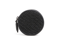 LEICA | ZEGNA Round wallet, Nero