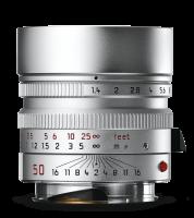 Leica Summilux-M 50mm f/1.4 ASPH., chromé argent