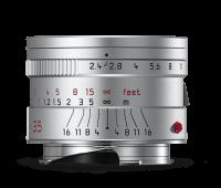 Leica Summarit-M 35mm f/2.4 ASPH., anodisé argent