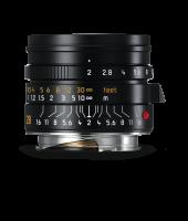 Leica Summicron-M 28mm f/2 ASPH., anodisé noir