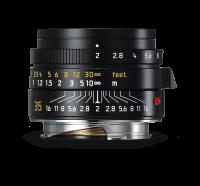 Leica Summicron-M 35mm f/2 ASPH., anodisé noir