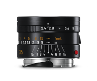 Leica Summarit-M 35mm f/2.4 ASPH., anodisé noir
