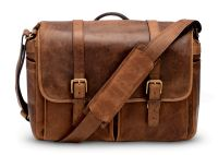 ONA Bag, The Brixton, pelle, cognac antico