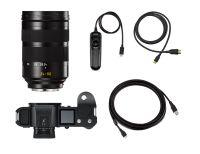 Leica SL (Typ 601) Set con Vario-Elmarit-SL 24-90 mm f/2.8-4 ASPH, nero anodizzato