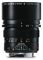 Leica APO-Summicron-M 90 мм, f/2, ASPH, черный, анодированный