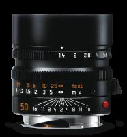 Leica Summilux-M 50 мм, f/1.4, ASPH, черный, анодированный