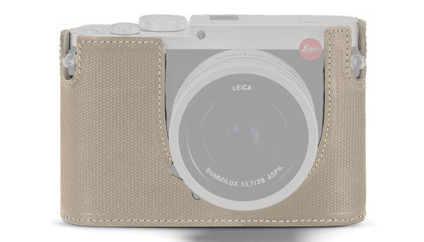 Протектор Leica Q, кожа, цементно-серый