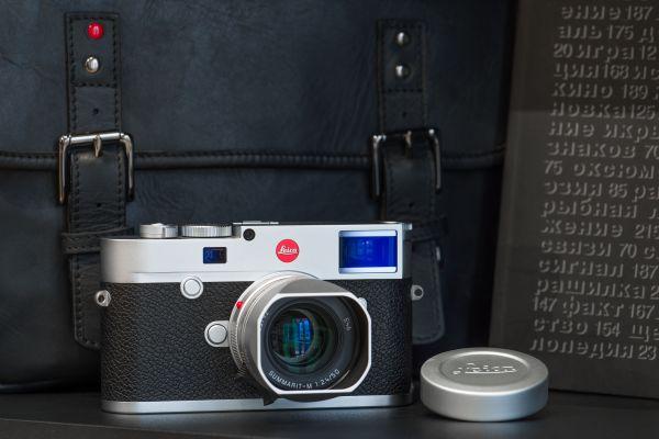 Leica M10 + SUMMARIT-M 50 f/2.4, серебро