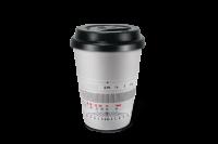 Кофейная кружка «Noctilux-M 50», серебристая