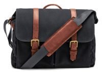 ONA Bag, The Brixton, canvas, black