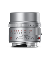 APO-Summicron-M 50mm f/2 ASPH., silver anodized