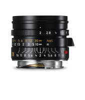 Summicron-M 28mm f/2 ASPH., black anodized