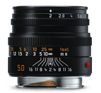 Summicron-M 50mm f/2, black anodized