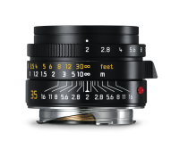 Summicron-M 35mm f/2 ASPH., black anodized