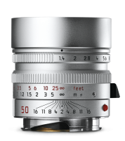 Summilux-M 50mm f/1.4 ASPH., silver chrome